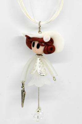 Demoiselle with an umbrella