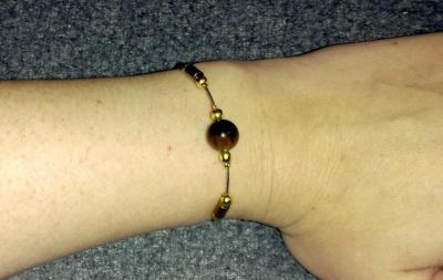 Bracelet Hématite - Oeil de tigre