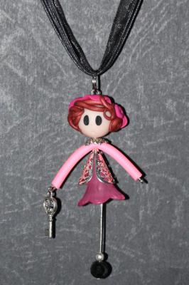 'Demoiselle' with a key
