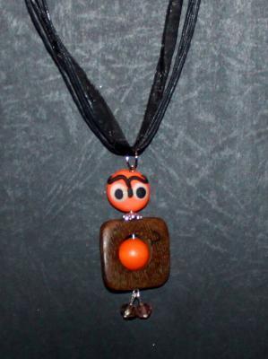 Lulu orange et noir