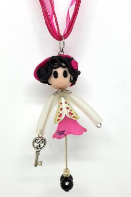 'Demoiselle' with a lucky charm