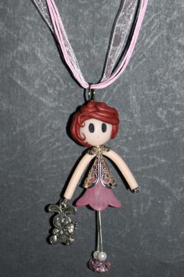'Demoiselle' with a rabbit