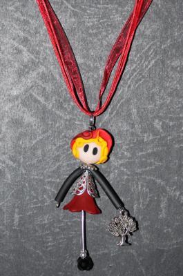 Demoiselle Rouge - Arbre de vie