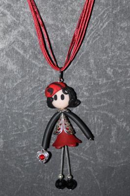 Demoiselle Rouge - coeur rouge