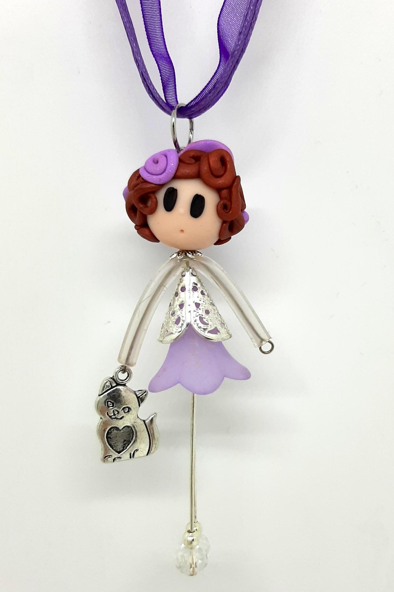 Violet miaou